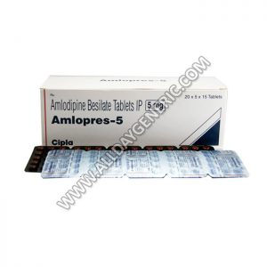 Amlopres 5 (Amlodipine Besylate)