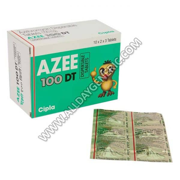 AZEE DT 100 MG