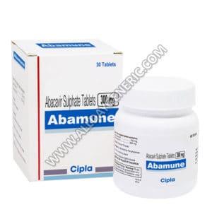 Abamune 300 mg, abacavir side effects, abacavir