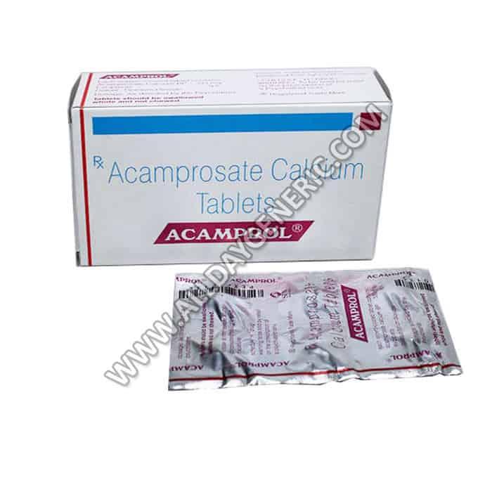 acamprol 333 mg (Acamprosate)