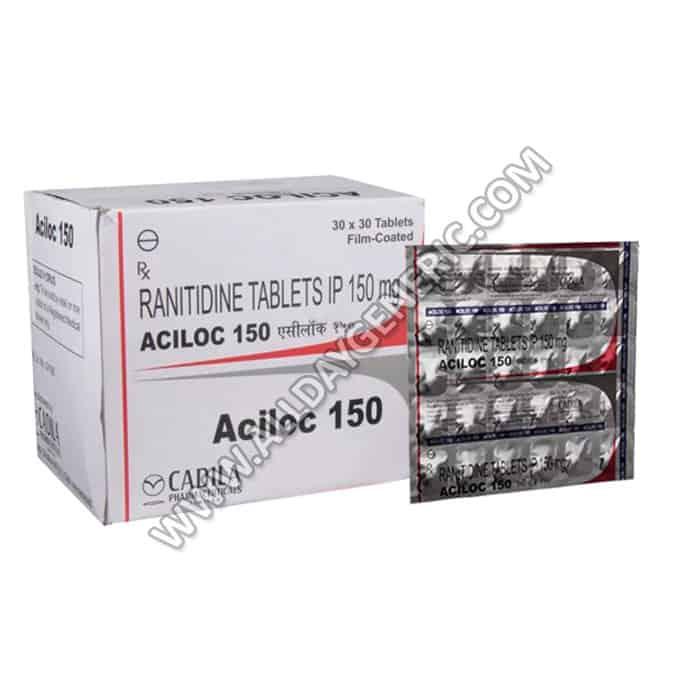ranitidine 150 mg, Aciloc 150, Ranitidine