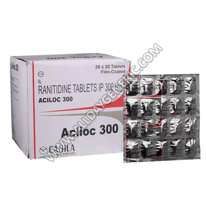 ranitidine 300, Aciloc 300 mg, aciloc
