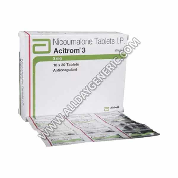 Acitrom 3 mg Tablet