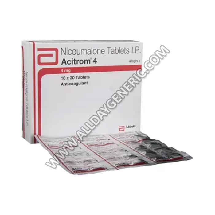 acitrom 4 mg tablet (Nicoumalone)
