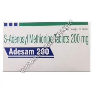 adesam 200 mg tablet (Ademetionine / S-Adenosyl Methionine)