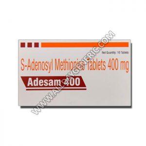 Adesam 400 mg Tablet (Ademetionine / S-Adenosyl Methionine)