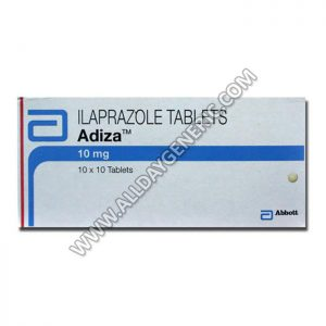 Adiza 10 mg Tablet (Ilaprazole)