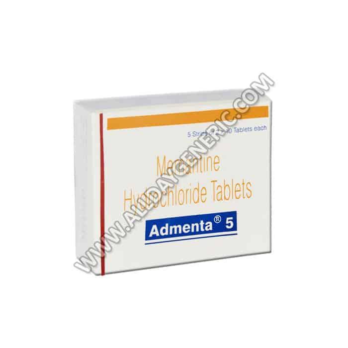 Admenta 5 mg, Memantine