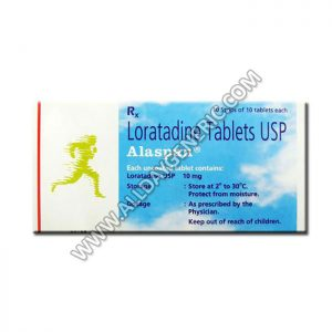 Alaspan (Loratadine 10 mg Tablet)