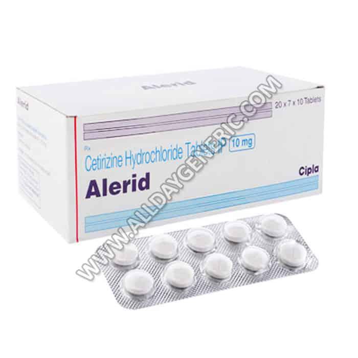 Alerid (Cetirizine 10 mg)