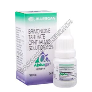 Alphagan eye drops (Brimonidine eye drops)
