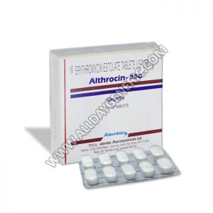 erythromycin 250mg(Althrocin 250 mg)