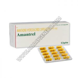 Amantrel 100 mg Capsule, Amantadine