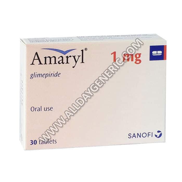 Amaryl 1 mg (Glimepiride 1mg)