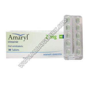 Amaryl 2 mg Tablet (Glimepiride)