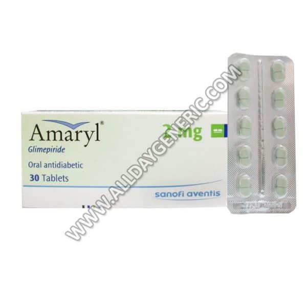 Amaryl 2 mg Tablet