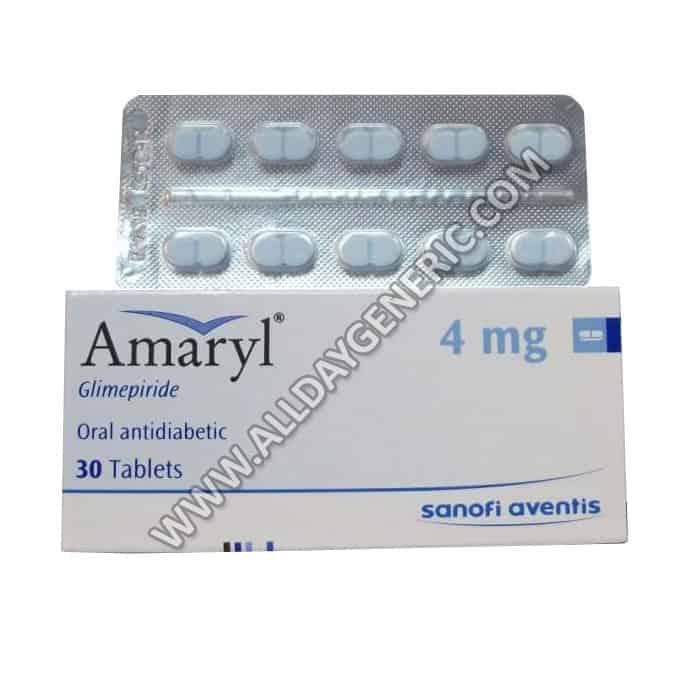 Amaryl 4 mg (Glimepiride)