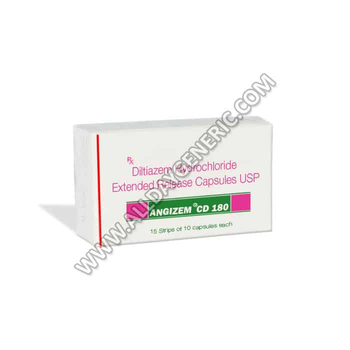 Diltiazem 180mg (Angizem CD 180)