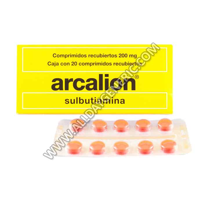 Arcalion 200 mg Tablet (Sulbutiamine)