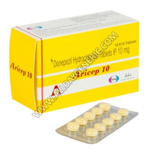 Aricep 10 mg (Donepezil)