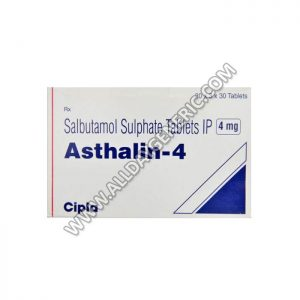 Asthalin 4 mg Tablet (Salbutamol)