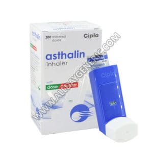 Asthalin Inhaler (salbutamol inhaler)