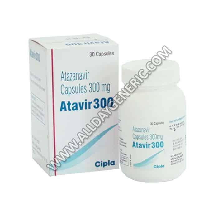 Atazanavir (Atavir 300 mg)