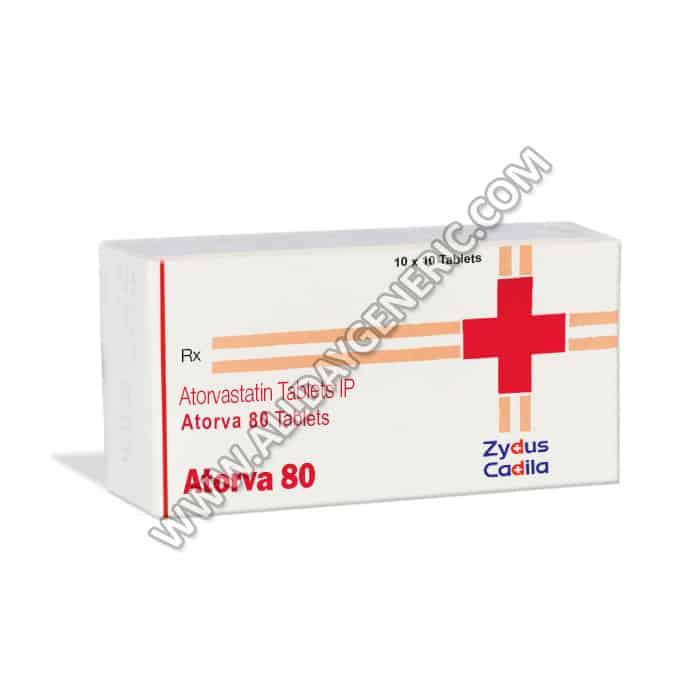 Atorvastatin 80 mg