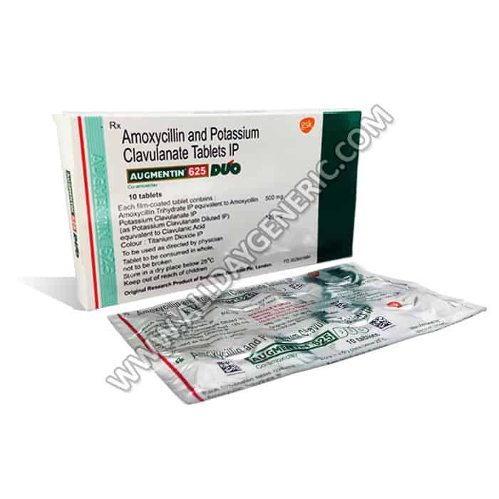 Augmentin 625, Amoxicillin / Clavulanic Acid