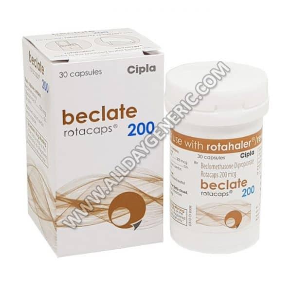 Beclate Rotacaps 200