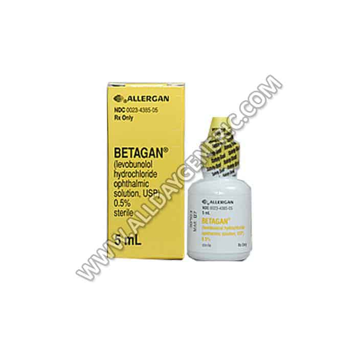 betagan eye drops (Levobunolol)