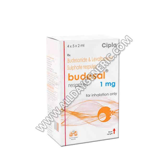Budesonide respules | Budesal Respules 1 mg (Budesonide / Levalbuterol)