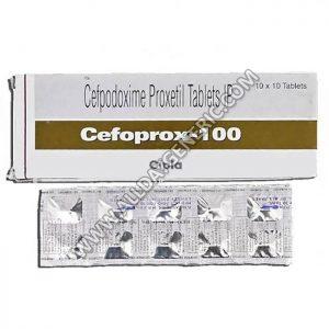 Cefoprox 100 (Cefpodoxime)