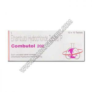 combutol 200, Ethambutol tablets