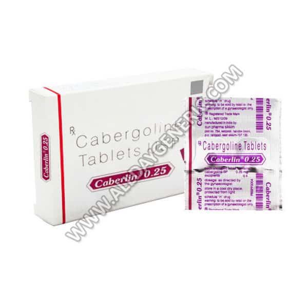 Caberlin 0.25 mg