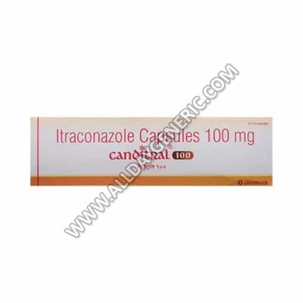Canditral 100 mg Capsule