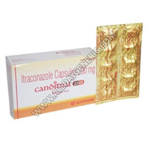 Canditral 200 mg Capsule, itraconazole capsules