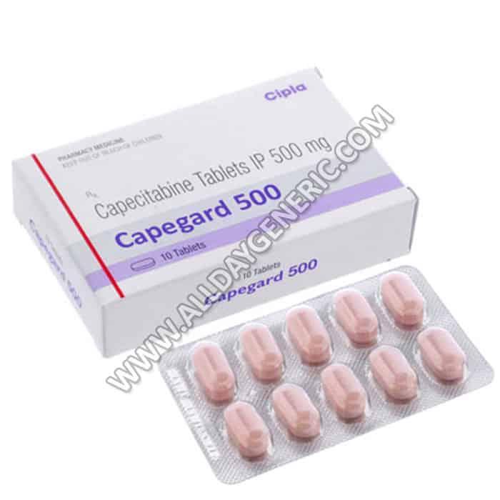 Capegard 500 mg (capecitabine)