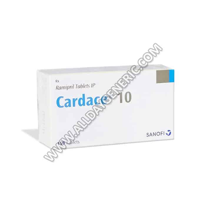 Cardace 10 mg, Ramipril 10mg