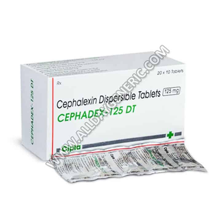 Cephadex | Cephadex DT 125 mg (Cefalexin)