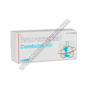 Combutol 400 mg, Ethambutol 400 mg