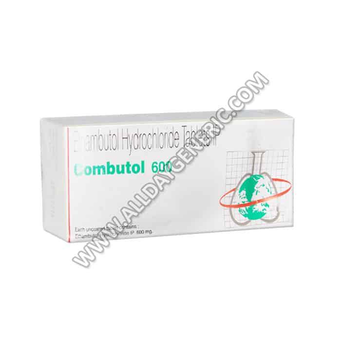 Combutol 600 mg, Ethambutol 600 mg