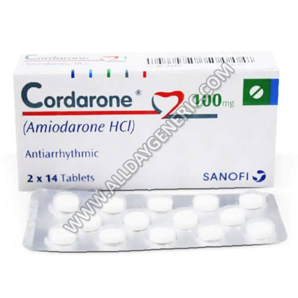 Cordarone 100 mg Tablet