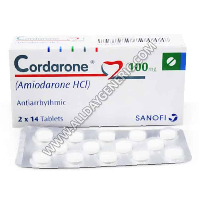 Amiodarone 100 mg (Cordarone Medication)