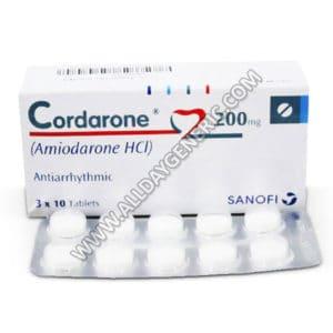 Cordarone 200 mg (Amiodarone 200 mg Tablet)