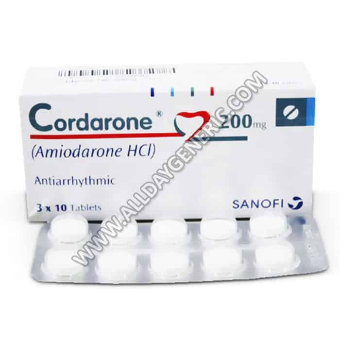 Cordarone 200 mg (Amiodarone 200 mg Tablet)