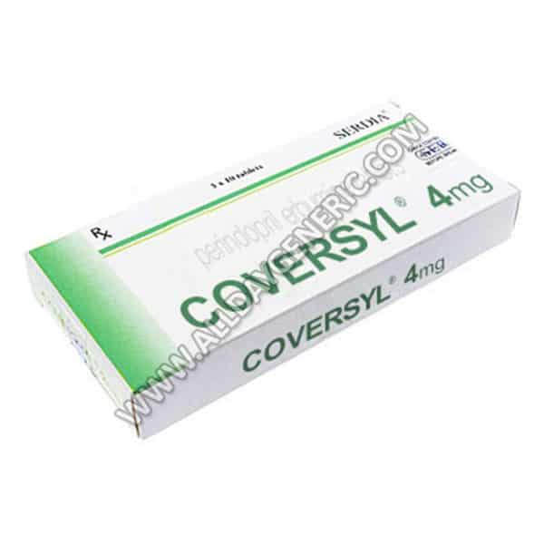 Coversyl 4 mg Tablet