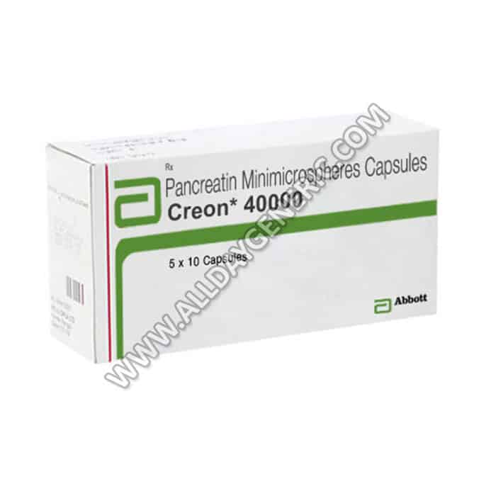 Creon 40000 Capsule(Pancreatin)