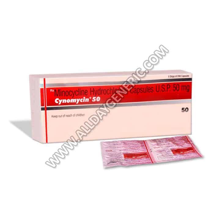 Cynomycin | Cynomycin 50 Mg (Minocycline 50 mg)