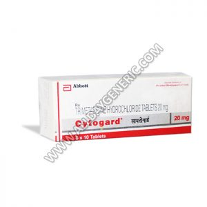 Trimetazidine 20 mg (Cytogard 20 mg)